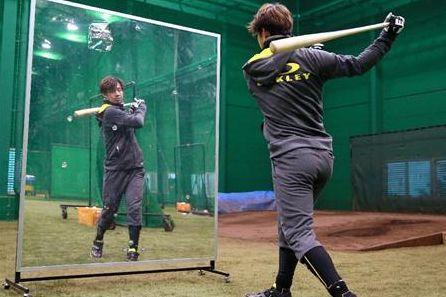 「野球 素振り フォームy」の画像検索結果